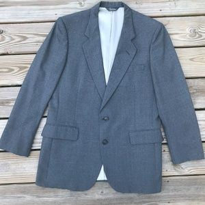 Pierre Cardin Men Blazer Gray Sport Jacket Coat
